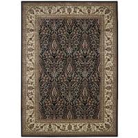 Nourison Persian Arts Black Rug (9'6 x 13') - 9'6 x 13'