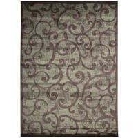 Nourison Expressions Brown Rug