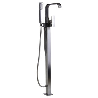ALFI AB2180-BN Brushed Nickel Floor Mounted Tub Filler