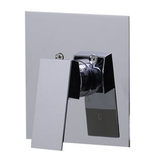 Alfi AB5501-PC Polished-chrome Brass Square-handle Shower Valve Mixer