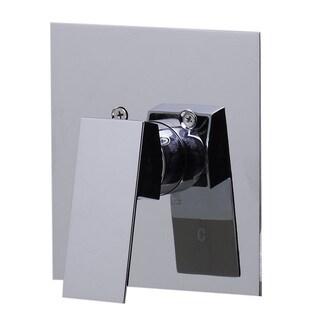 Alfi AB5501-PC Polished-chrome Brass Square-handle Shower Valve Mixer