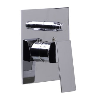Link to ALFI Polished Chrome Brass Square Lever Shower Valve Mixer Similar Items in Plumbing