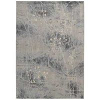 Nourison Somerset Silver Blue Area Rug - 9'6 x 13'