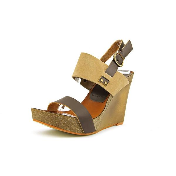 5808bd3ad70c Shop Mia Heritage Women s Foxy Leather Sandals - Free Shipping On ...