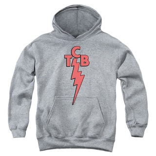 Elvis/Tcb Youth Pull-Over Hoodie in Heather