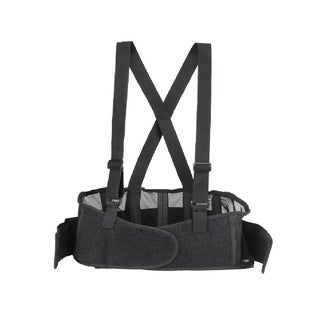 Lumbar Support Back Brace with Adjustable Suspenders
