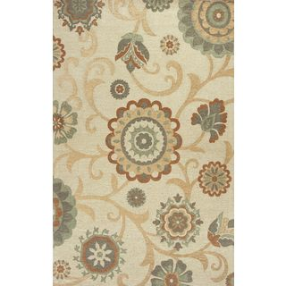 "Mulberry 3407 Beige Natura (27"" x 45"") Rug"
