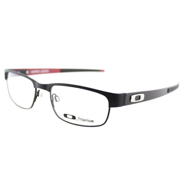 aad6437f460 Oakley Carbon Plate OX5079-0153 Matte Black Rectangle 53 millimeter  Eyeglasses 53mm
