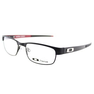 Oakley Carbon Plate OX5079-0153 Matte Black Rectangle 53 millimeter Eyeglasses 53mm