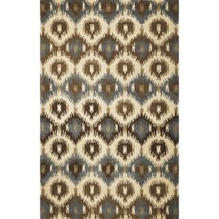 Tapestry 6810 Ivory Allover Mosaic Runner Rug (2'3 x 8')