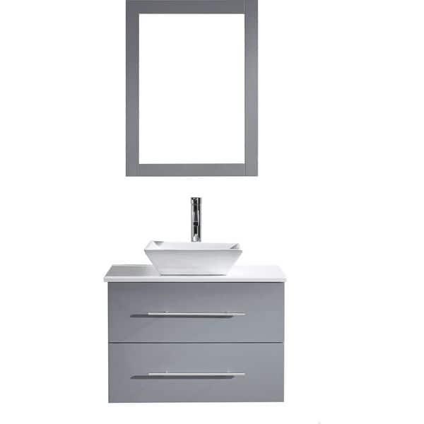 Virtu Usa Marsala 29 Inch Single Bathroom Vanity Set Overstock 11871432