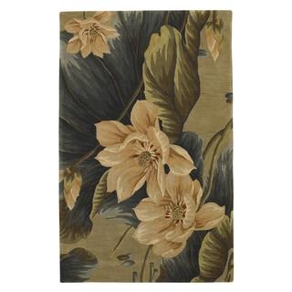 """Sparta 3114 Sage Floral Vision (2'6"""" x 10') Runner Rug"""