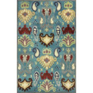"""Tapestry 6811 Blue Ferozi (2'3"""" x 8') Runner Rug"""