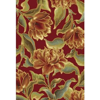 "Versailles 8543 Red Bella (2'2"" x 6'11"") Runner Rug"