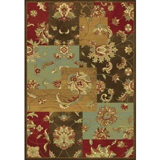 "Versailles 8547 Mocha Mahal Views (2'2"" x 6'11"") Runner Rug"