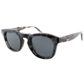 Celine CL 41371 4RV Grey Havana Plastic Fashion Grey Lens Sunglasses