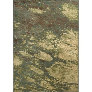 """Versailles 8561 Seafoam Palette (2'2"""" x 6'11"""") Runner Rug"""