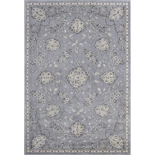 Montecarlo IV 5190 Silver Bouquets Rug (3'3 x 4'7)