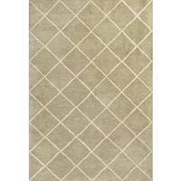 "Amore 2714 Pale Green Views (3'3"" x 5'3"") Rug - 3'3 x 5'3"