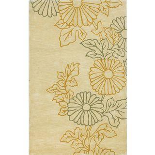 "Bali 2822 Ivory Sunshine (3'3"" x 5'3"") Rug"