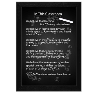 "''In the Classroom"" by Trendy Decor 4U Printed Framed Wall Art"
