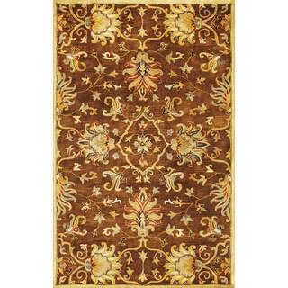 Syriana 6011 Mocha Agra Rug (3'3 x 5'3)