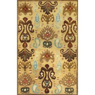 "Tapestry 6812 Gold Ferozi (3'3"" x 5'3"") Rug - 3'3 x 5'3"