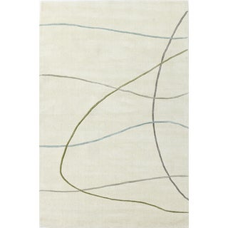 """Transitions 3311 Ivory Visions (3'3"""" x 5'3"""") Rug"""