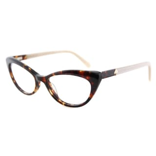 Kate Spade Women's KS W79 Analena Tortoise 50-millimeter Plastic Cat-eye Eyeglasses