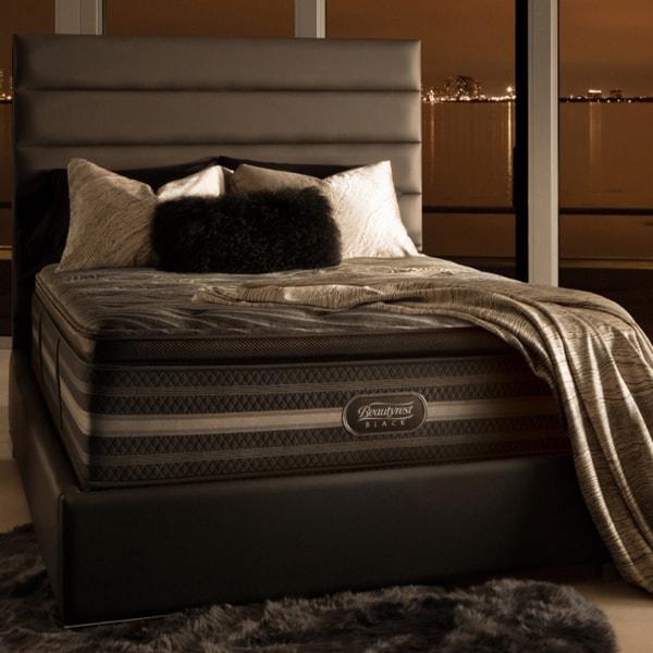 Simmons Beautyrest Black Natasha Plush Pillow Top