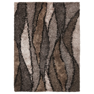 Optic 1110 Taupe Grain Rug (5' x 7')