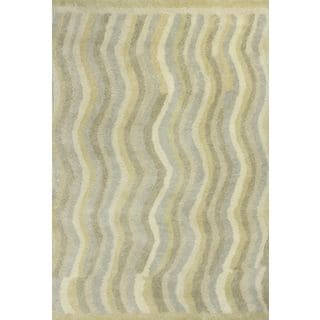 "Amore 2707 Slate Waves (5' x 7'6"") Rug"
