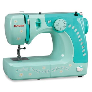 Janome Hello Kitty 11706 Sewing Machine Factory Refurbished with Warranty