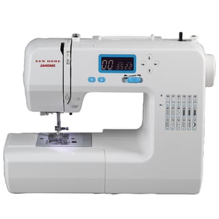 Janome 18 Stitches 49018 Sewing Machine Factory Serviced with Warranty