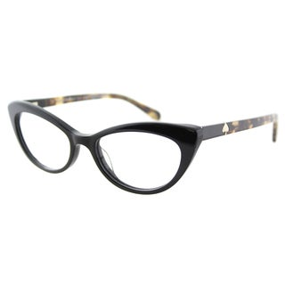 Kate Spade Women's KS Analena 807 Black Plastic Cat-eye Eyeglasses