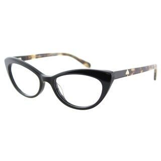 Kate Spade Women's KS Analena 807 Black Plastic Cat-eye Eyeglasses