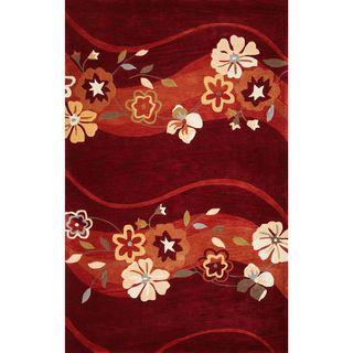 Bali 2853 Ruby Spring Time (5' x 8') Rug