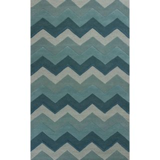 Eternity 1078 Ocean Chevron (5' x 8') Rug