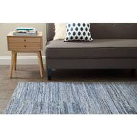 Jani Fay Demin and Polyester Rug