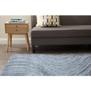 Jani Noah Demin and Polyester Rug (8' x 10')