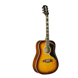 Eko Guitars 06216940 Ranger Series Honeyburst Vintage Reissue Dreadnought Acoustic Guitar