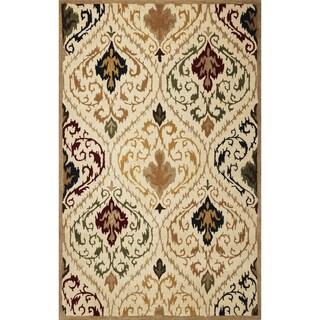 Tapestry 6804 Ivory/ Beige Panel Rug (5' x 8')