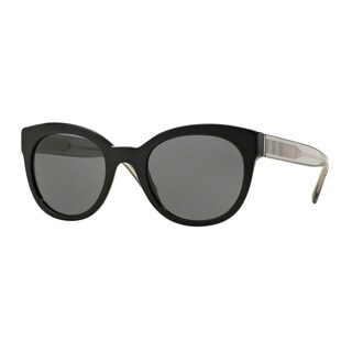 Burberry Women's BE4210 300187 Black Plastic Phantos Sunglasses