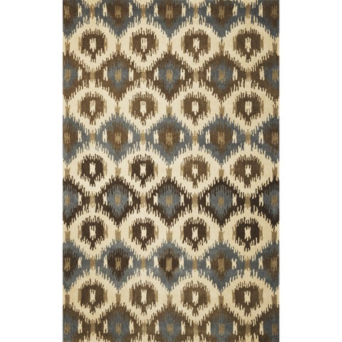 Tapestry Ivory Allover Mosaic Rug - 5' x 8'