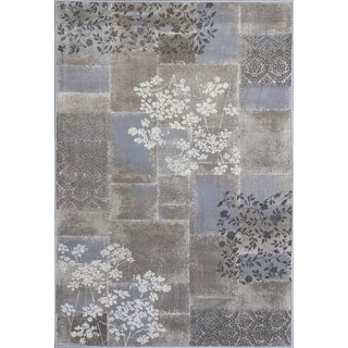 Montecarlo IV 5191 Champagne Mirage Rug (5'3 x 7'7)