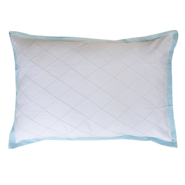 Fine Well Selected Cotton High Blue 20 x 30-inch Pillow Shams (Pack of 2)