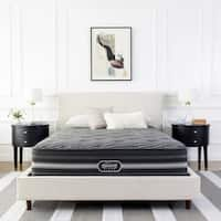 Beautyrest Black Natasha Plush Pillow Top Queen Size Mattress Set - N/A