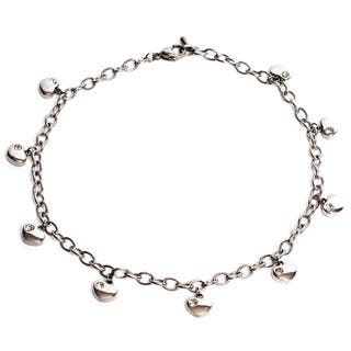 Magnetic Therapy 12.5-inch Adjustable Ankle Bracelet with Hearts|https://ak1.ostkcdn.com/images/products/11872164/P18770590.jpg?impolicy=medium