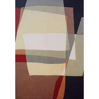 """Tate 8520 Multicolor Visions (5'6"""" x 5'6"""") ROU Rug