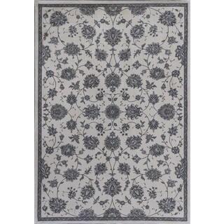 Montecarlo IV 5174 Ivory Kashan Rug (7'10 x 11'2)